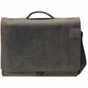 Strellson Richmond Messenger BriefBag XL Leder 41 cm Laptopfach