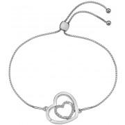 Hot Diamonds Brățară din argint Inimă Adorable Encased DL574