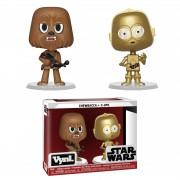 Vynl. Vynl Chewbacca & C-3PO
