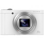 Sony DSC-WX500 Digitale camera 18.2 Mpix Wit Draai- en zwenkbare display, Full-HD video-opname, Live-View, WiFi