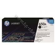 Тонер HP 650A за CP5525/M750, Black (13.5K), p/n CE270A - Оригинален HP консуматив - тонер касета