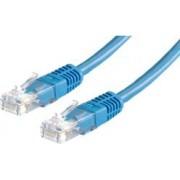 Kabel mrežni Roline UTP Cat.6, 0.5m, plavi, 21.99.1524