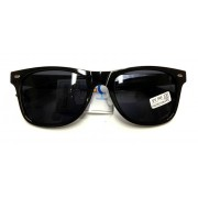 Retro brýle Wayfarer - černé
