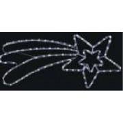 DECORATIUNE COMETA LED 7,2W IP44 75X35CM ALB
