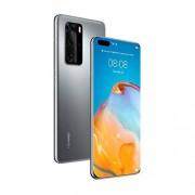 "Huawei P40 PRO Smartphone 6.58"" OLED, Quad Cámara Trasera 50 MP, 8 GB RAM + 256 GB ROM, EMUI 10. 1, Kirin 990 5G, Desbloqueado, Color Plata Glacial"