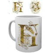 GYE Harry Potter - Hufflepuff Monogram Mug