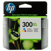 Hp CARTUCCIA ORIGINALE HP 300XLC COLORE CC644EE ALTA CAPACITA' PER HP D2560 F4210 F4224 F4272 F4280 CAPACITA' 11ML 420 PAGINE