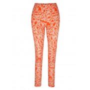 AMY VERMONT Leggings im allover-Druck, orange