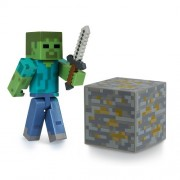Minecraft Overworld Series 1: Zombie Action Figure