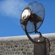 Ventilateur brumisateur mural haute performance Ofresh