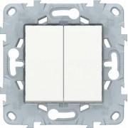 Schneider Electric Переключатель Schneider Electric Unica NU521318 Белый