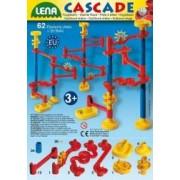 Set de joaca labirint cu 20 bile si 64 de elemente Lena