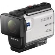 Camera video de actiune Sony FDR-X3000,Filmare 4K, Wi-Fi, GPS (Alb)