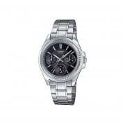 Reloj Analógico Mujer Casio LTP-2088D-1A Cronógrafo - Plateado con Negro