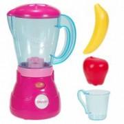 Jucarie Blender pentru copii Roz cu lumini sunet plus 2 fructe colorate ATS 1 cana buton on - off Bucatarie copii