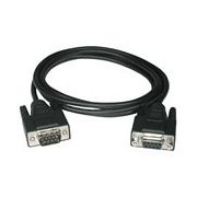 C2G 1m DB9 M/F Cable 1m Black serial cable