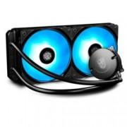 Водно охлаждане за процесор Deep Cool MAELSTROM 240 RGB, съвместимост с Intel LGA2066/2011/-v3/1366/1156/1155/1151/ 1150 & AMD AM4/AM3(+)/AM2(+)/FM2(+)/FM1