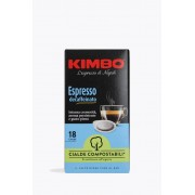 Kimbo Espresso Decaffeinato 18 E.S.E.-pads