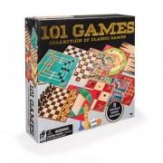 Set 101 jocuri clasice pentru copii inteligenti 5 table de joc cu fete duble
