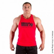 Gorilla Wear Classic Tank Top Red - S