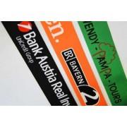 Koffergurt 2-farbiger Einwebung von Logo oder Text