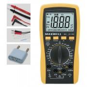 Digitális multiméter induktivitás méréssel MX-25306