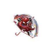 Spiderman Transparante Spiderman paraplu voor jongens 71 cm