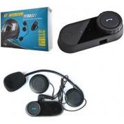 Motoros bukósisak bluetooth headset, FM rádió, multipoint 1 darabos szett M800S