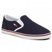 Гуменки TOMMY JEANS - Essential Slip On Sneaker EN0EN00782 Twilight Navy C87