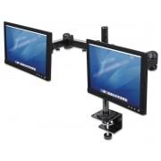 Supporto per Monitor LCD con Doppio Braccio Rotante