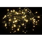 Karácsonyi LED fényfüzér - meleg fehér 80 LED 8 m