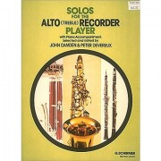 G. Schirmer Solo's for the Alto Recorder Player