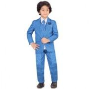 Jeet Blue Coat Suit for Boys
