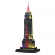 Puzzle 3D Empire State Building noaptea 216 piese Ravensburger