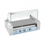 Hot Dog Grill - 7 rollers - stainless steel