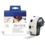 Italy's Cartridge ETICHETTE DK11218 24mm COMPATIBILI BIANCHE ROTOLO DA 1000 PZ PER BROTHER QL1000 1050 1060 WHITE DK-11218 CON SUPPORTO
