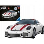 Puzzle 3D RAVENSBURGER 125289 Porsche, 108 de piese, Plastic, Multicolor, 10 ani+