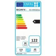 "Sony KD-49XG8377 49"" 4K HDR TV BRAVIA"