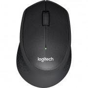 Mouse Logitech M330 Silent Plus, Wireless, Black