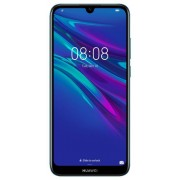 "Telefon Mobil Huawei Y6 2019, Procesor MTK MT6761, Quad Core, LCD Capacitive touchscreen 6.09"", 2GB RAM, 32GB Flash, Camera 13MP, 4G, Wi-Fi, Dual SIM, Android (Albastru) + Cartela SIM Orange PrePay, 6 euro credit, 6 GB internet 4G, 2,000 minute nationale"