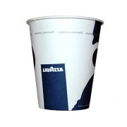 Pahare Lavazza carton 8 oz manuale (Set de 40 buc.)
