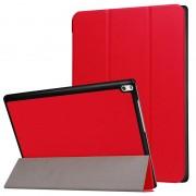 Capa Tri-Fold para Lenovo Tab 4 10 Plus - Vermelho