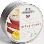 Simpkins Sugar & Gluten Free Rhubarb & Custard Travel Sweets Gift Tin
