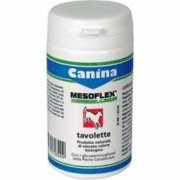 Canina Pharma Mesoflex Junior 30 tavolette - Alimento complementare per cani per tendini legam