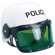 Castle Toy Police Motorcycle Cop Helmet & Visor Child Costume