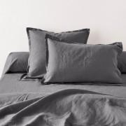 La Redoute Interieurs Fronha de almofada ou de travesseiro, em linho lavadoCinza-Asfalto- 50 x 70 cm