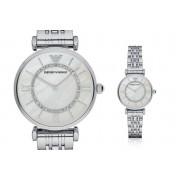 Emporio Armani Ladies Emporio Armani AR1908 Silver-Tone Watch