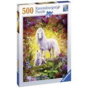 Puzzle Copii Unicorn Si Manz, 500 Piese