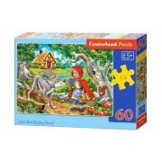 Puzzle Scufita Rosie, 60 piese