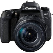 Canon Fotocamera EOS 77D Kit 18-135mm IS NANO USM